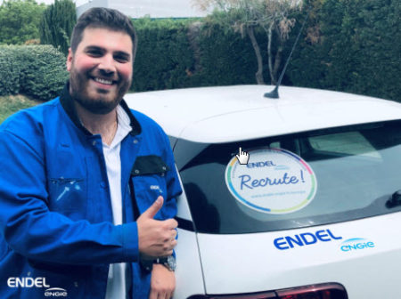 endel stickers voiture