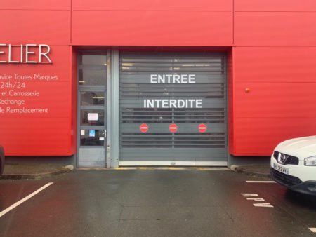 signaletique magasin citroen
