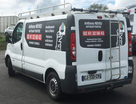 Marquage vehicule en aplat numérique