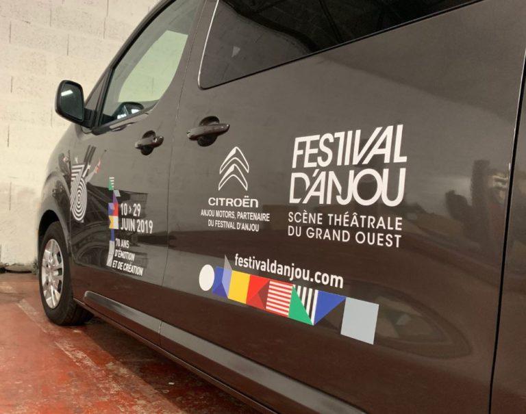 marquage voiture festival anjou 2019