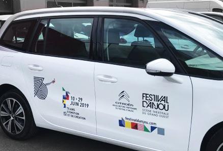 marquage van festival anjou 2019