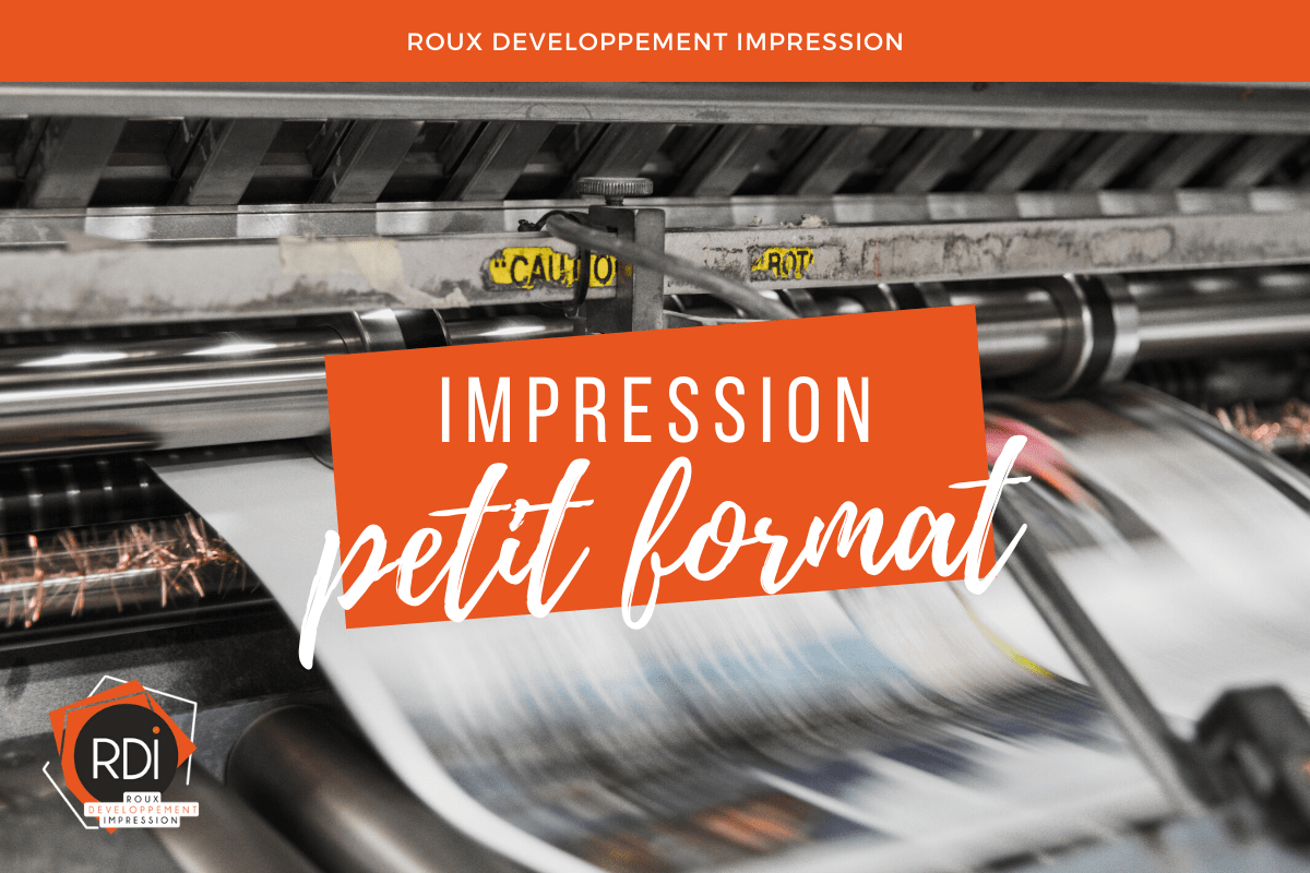 impression petit format angers
