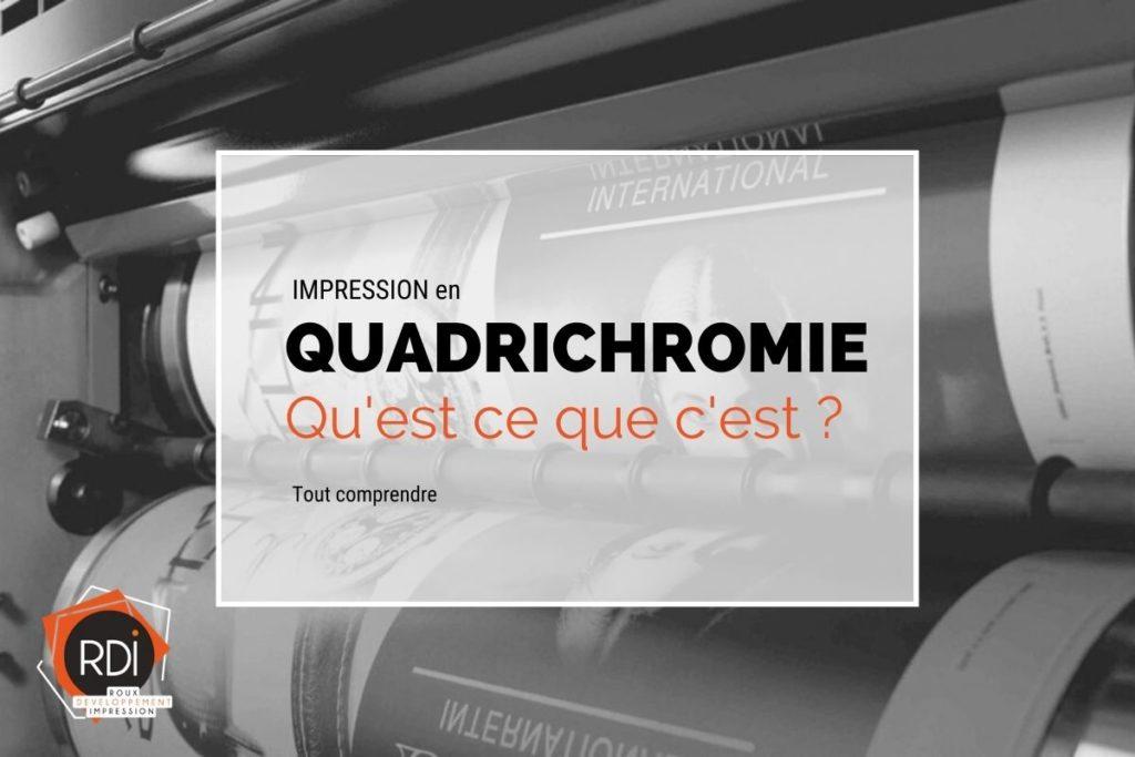 Impression quadrichromie